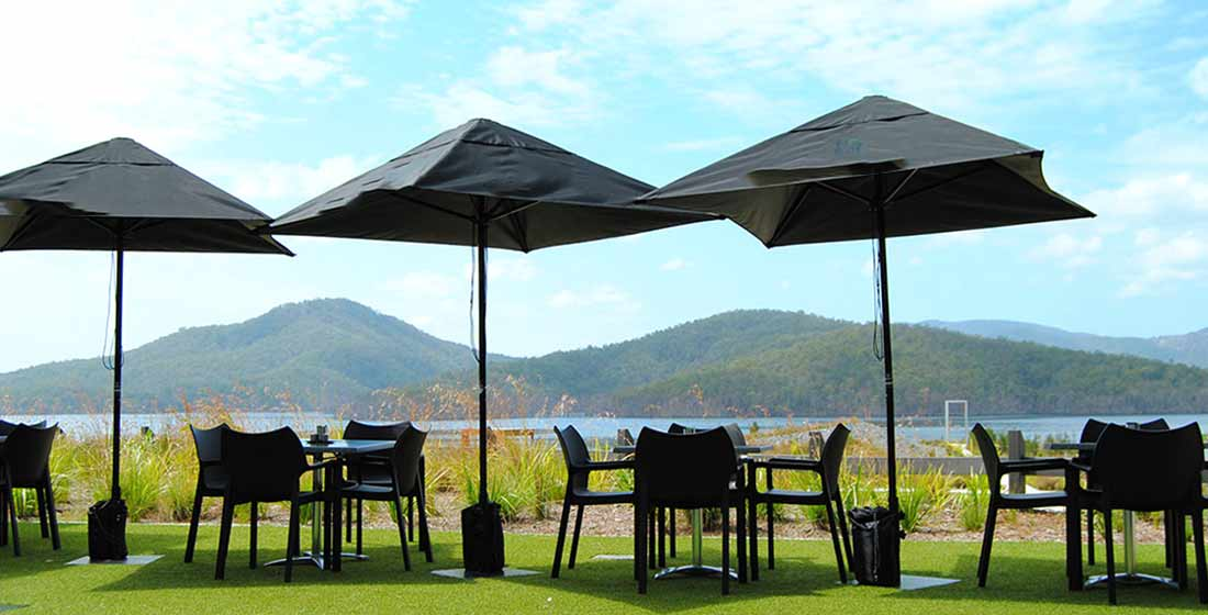 View Cafe garden